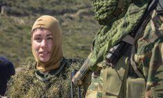 Είναι από την Ικαρία και είναι η πρώτη γυναίκα Εθνοφύλακας