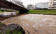 Τρίκαλα: Διακοπή κυκλοφορίας στο επαρχιακό οδικό δίκτυο από τις βροχοπτώσεις