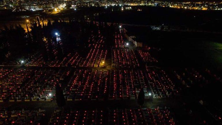 Ξάνθη: 6.000 κεράκια στα κοιμητήρια τη Μεγάλη Παρασκευή