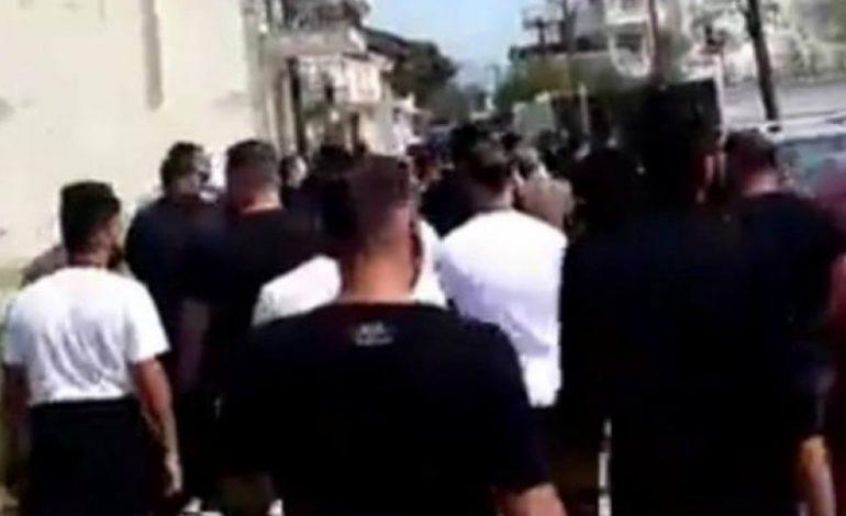 Ένταση προκλήθηκε χθες το βράδυ στον Δενδροπόταμο, ανάμεσα σε Ρομά και μετανάστες.