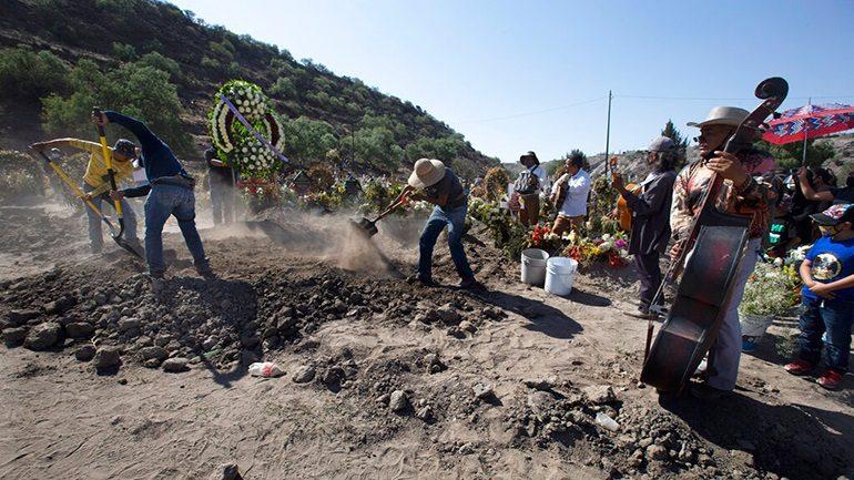 Μεξικό: 1.044 θάνατοι – 5.343 κρούσματα σε 24 ώρες