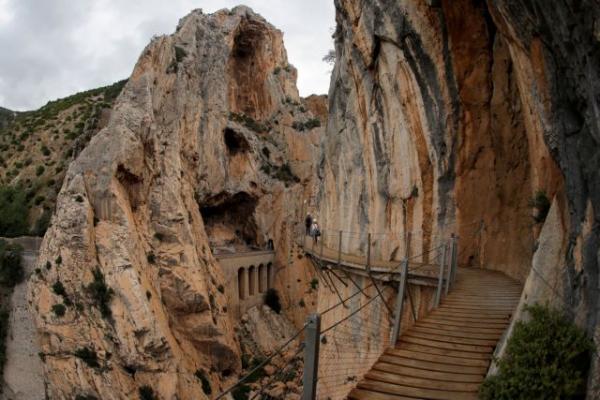 Caminito del Rey: Το πιο επικίνδυνο μονοπάτι του κόσμου βρίσκεται στην Ανδαλουσία