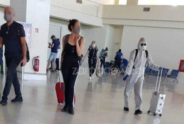 Τουρίστας έφτασε στα Χανιά έτοιμος για… χημικό πόλεμο