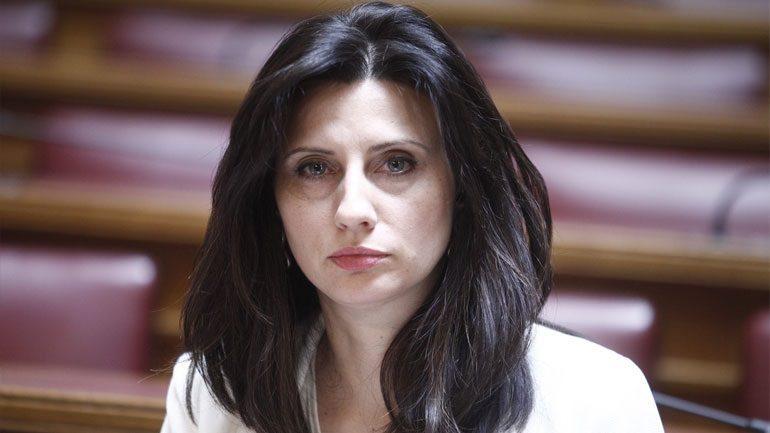 Ήρθηη ασυλία της βουλευτή του Σύριζα Κασιμάτη Νίνας για το : Η διεύρυνση γκαζώνει, μπάτσοι γουρούνια δολοφόνοι