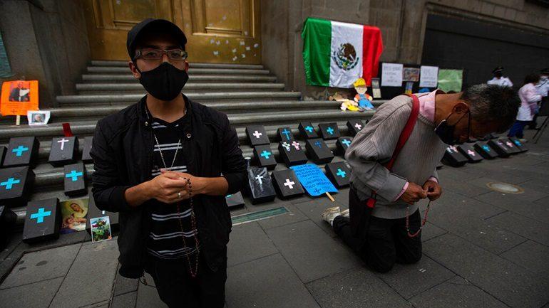 Μεξικό: στην 3η θέση πλέον στον πλανήτη ως προς τον αριθμό των θανάτων
