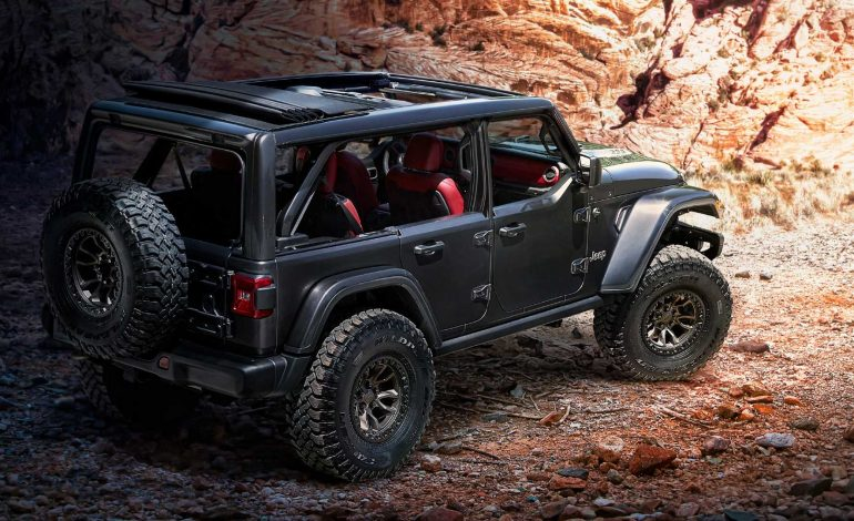 Jeep Wrangler Rubicon 392 Concept. Ένα όνειρο με V8 soundtrack!