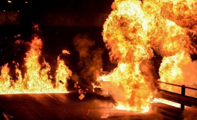 Βόλος : Σοβαρές ζημιές από επίθεση με μολότοφ στην Περιφερειακή Ενότητα Μαγνησίας