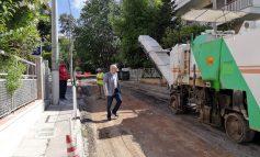 Ασφαλτοστρώσεις στο Μαρούσι