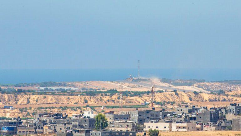 Ισραήλ: Αεροπορικοί βομβαρδισμοί εναντίον της Χεζμπολάχ και της Χαμάς στη Λωρίδα της Γάζας