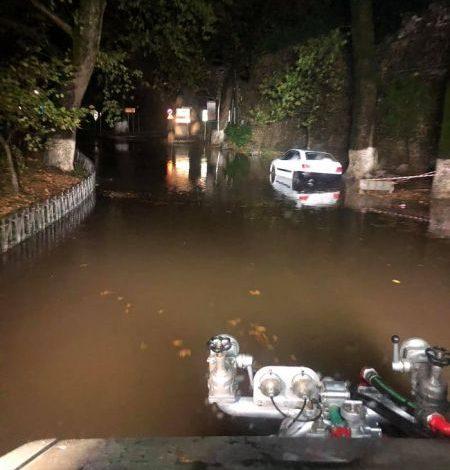 Ήπειρος : Πλημμύρες και ζημιές στο οδικό δίκτυο από τη χθεσινοβραδινή καταιγίδα
