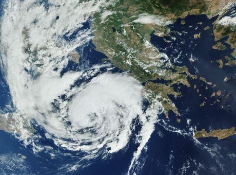 Ο «Ιανός» ήταν ένας από τους πιο ισχυρούς μεσογειακούς κυκλώνες από το 1969