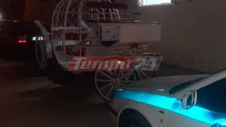 Κορωνοϊός-Κάτω Αχαΐα: Κατάσχεσαν άμαξα και άλογα για να αποτραπεί γάμος