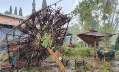 """""""Ιανός"""" - Κεφαλονιά: Εικόνες καταστροφής στον Καραβόμυλο και την Αγία Ευφημία της Σάμης"""