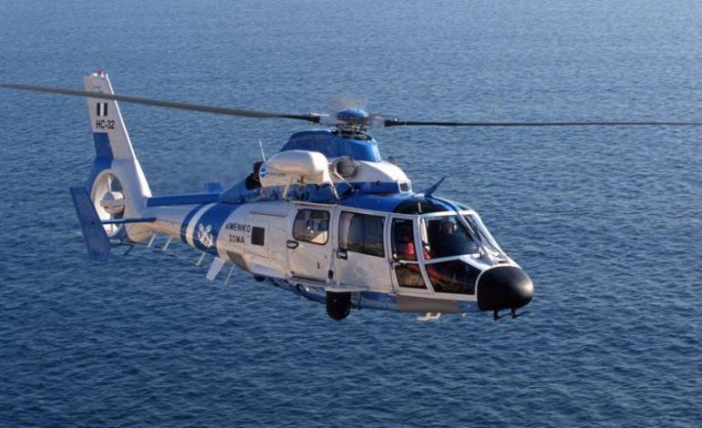 Αεροδιακομιδή ασθενούς από πλοίο στους Καλούς Λιμένες Κρήτης