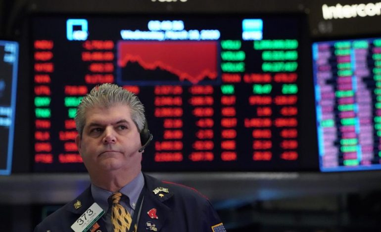 «Βουτιά» διόρθωσης στην Wall – 800 μονάδες έχασε ο Dow, στο -5% ο Nasdaq