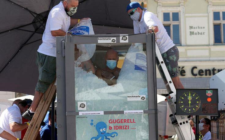 Αυστρία: Έμεινε μέσα σε 200 κιλά πάγου για 2,5 ώρες