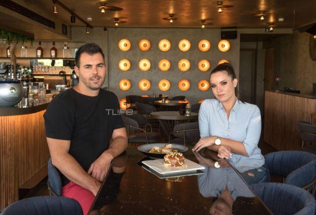 Δημήτρης Μπέλλος – Μαρία Μπέη: Βόλτα στην Κηφισιά για το ερωτευμένο ζευγάρι του Master Chef