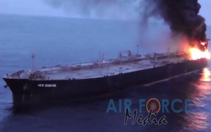 Φωτιά σε τάνκερ στον Ινδικό Ωκεανό – Νεκρός Φιλιππινέζος ναυτικός, πέντε Έλληνες στο πλήρωμα