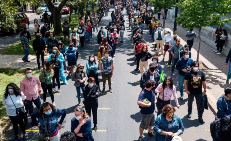 «Ιστορική μέρα» στη Χιλή : Ψήφισαν για την αλλαγή του χουντικού Συντάγματος