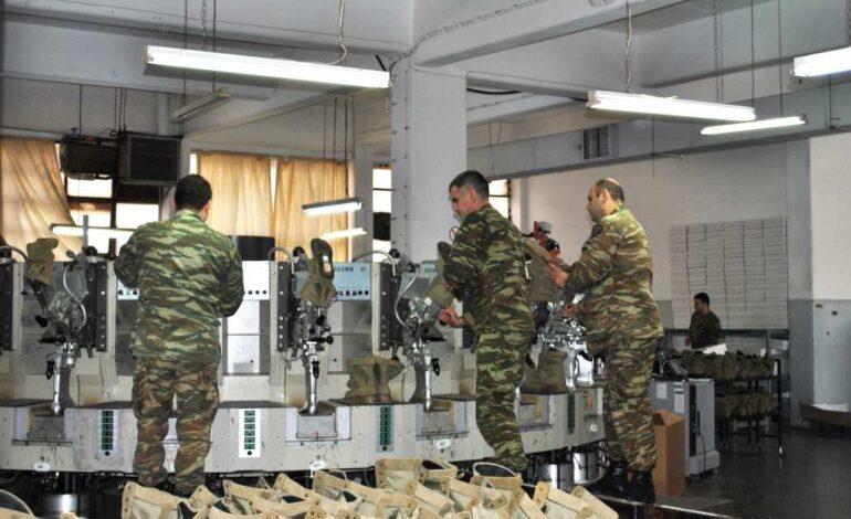 Στη μάχη κατά της πανδημίας το ΓΕΣ: Mε αυτόματη μηχανή παραγωγής μασκών εξοπλίζεται το 700 Στρατιωτικό Εργοστάσιο