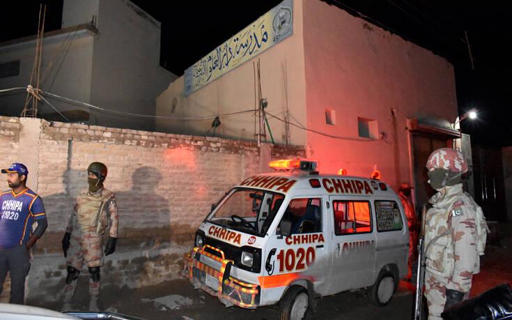 Τρόμος στο Πακιστάν: Έκρηξη σε ισλαμικό σχολείο, τουλάχιστον επτά νεκροί