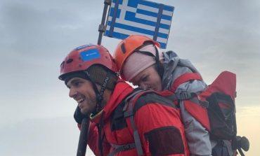 Η 22χρονη Ελευθερία που ανέβηκε στον Όλυμπο στην πλάτη του Μάριου μιλάει στο ΑΠΕ-ΜΠΕ