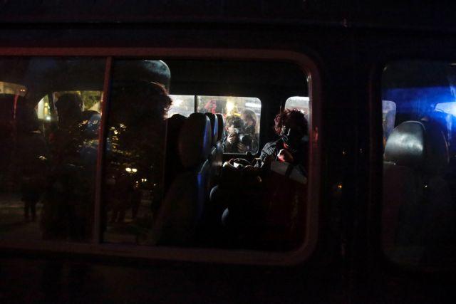 Διαμαρτυρία κατά της βίας εναντίον των γυναικών : Σε συλλήψεις μετατράπηκαν οι προσαγωγές
