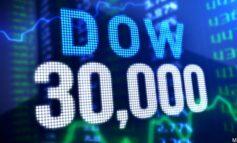 Κατέκτησε και τις  30.000 μονάδες ο Dow Jones