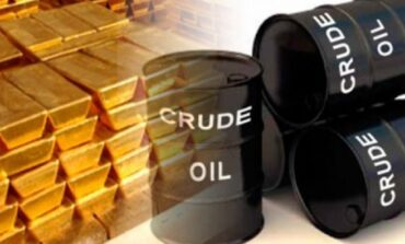 Σε χαμηλό τεσσάρων μηνών ο χρυσός. Σε υψηλό οκτώ μηνών το πετρέλαιο.