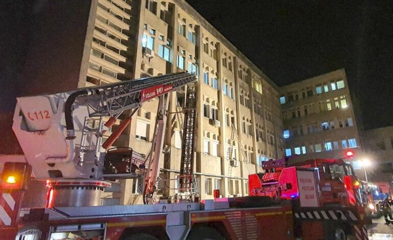 Ρουμανία: 10 διασωληνωμένοι ασθενείς με κορωνοϊό σκοτώθηκαν από πυρκαγιά σε νοσοκομείο