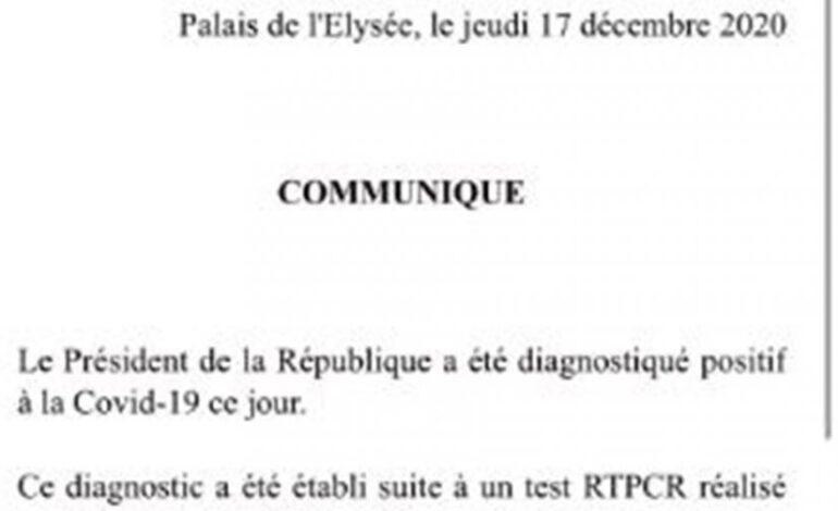 Θετικός στον κορωνοϊό ο Γάλλος πρόεδρος Εμ. Μακρόν