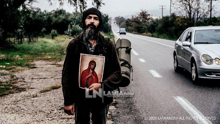 Ο βατραχάνθρωπος των ΟΥΚ στο ταξίδι του με προορισμό το Άγιο Όρος έχοντας προστάτιδά του την Παναγία
