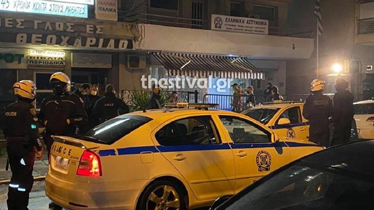 32χρονος αλλοδαπός αυτοτραυματίστηκε έξω από αστυνομικό τμήμα στη Θεσσαλονίκη