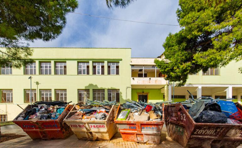 Ξεκίνησαν οι εργασίες στο 1ο  Δημοτικό της Νέας Ερυθραίας