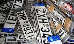 Προθεσμία έως τις 28 Φεβρουαρίου για την κατάθεση των πινακίδων κυκλοφορίας