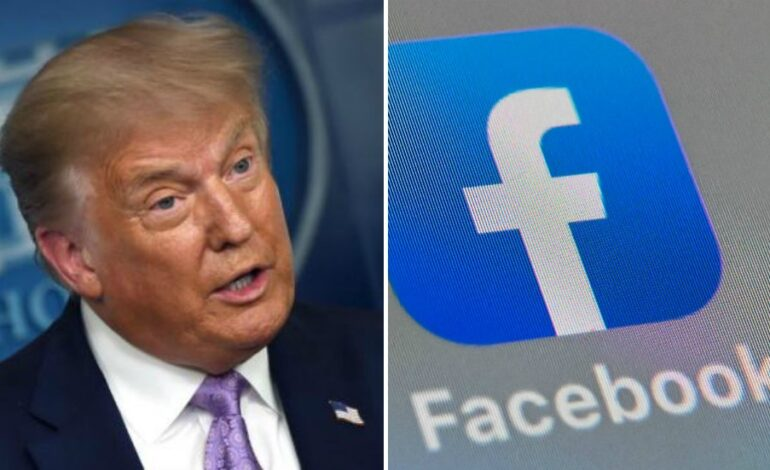 H Facebook δεν θα άρει το μπλοκάρισμα των λογαριασμών του Τραμπ