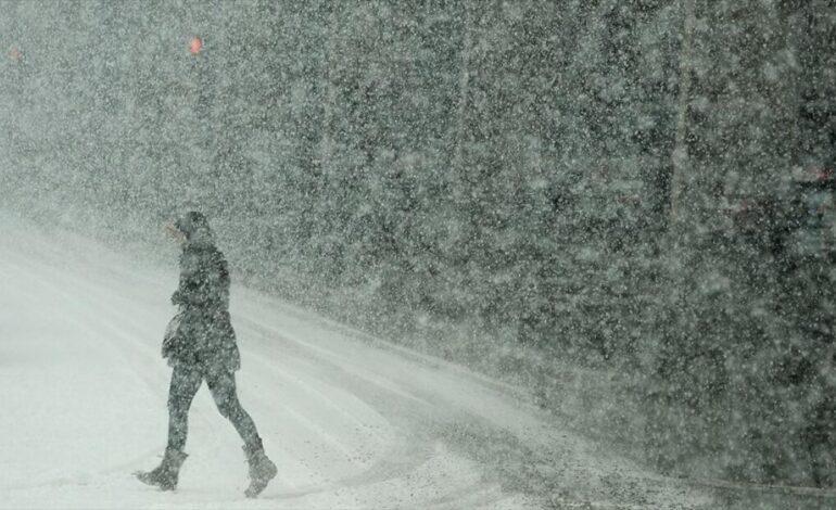 Νέο κύμα κακοκαιρίας – Αναλυτικά που θα χιονίσει