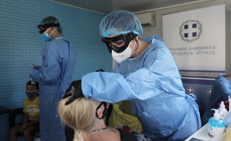 Φόβοι για 3ο κύμα Covid στην Αττική – πολλές εισαγωγές ασθενών κάθε μέρα στα νοσοκομεία