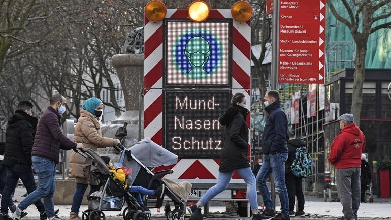 Γερμανία: Παράταση του lockdown έως τις 18 Απριλίου