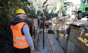 Ολοκληρώνονται εντός τετραμήνου τα αντιπλημμυρικά έργα στο Διόνυσο