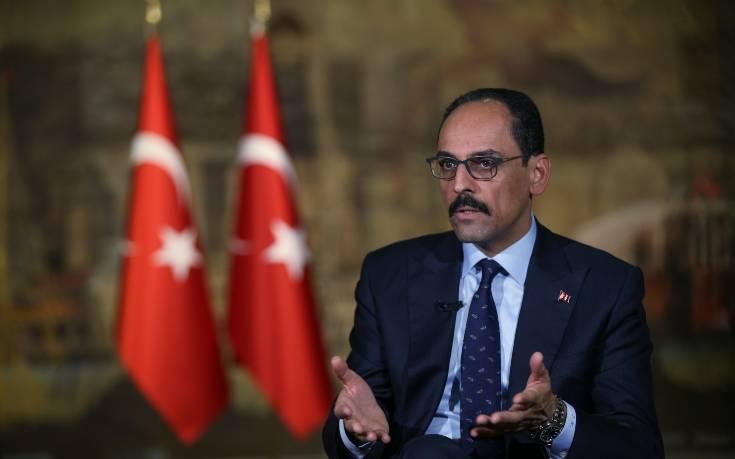 Καλίν: Η Τουρκία θα απαντήσει εν καιρώ στην «εξωφρενική» δήλωση Μπάιντεν περί γενοκτονίας