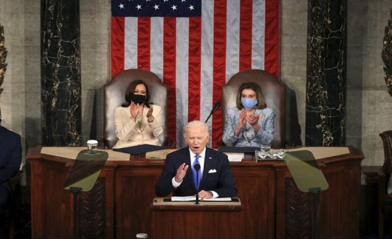Μπάιντεν: Η Αμερική πάει ξανά μπροστά