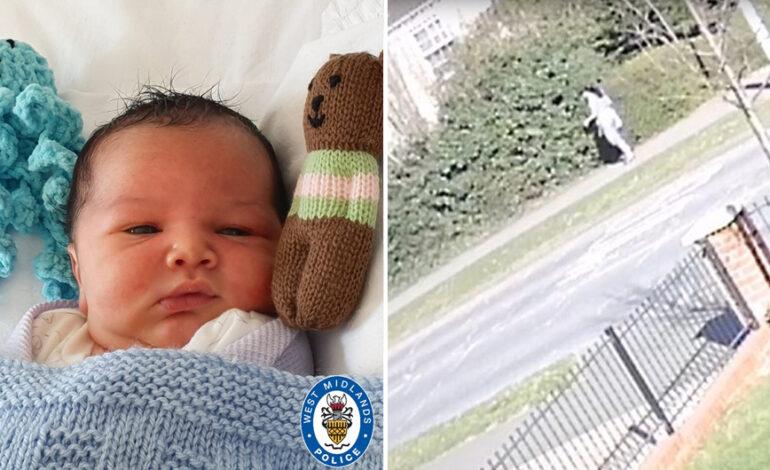 Οι φωτογραφίες του νεογέννητου που εγκατέλειψε η μαμά του σε πάρκο και η έκκληση της αστυνομίας