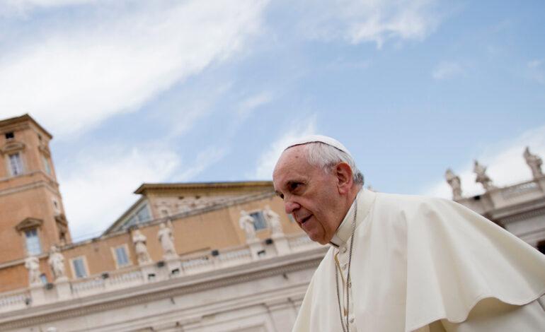 Πάπας Φραγκίσκος: Δεύτερη φορά νοσοκόμοι μού σώζουν τη ζωή