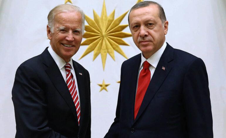 Τουρκικά Μέσα: Τηλεφωνική επικοινωνία Μπάιντεν – Ερντογάν