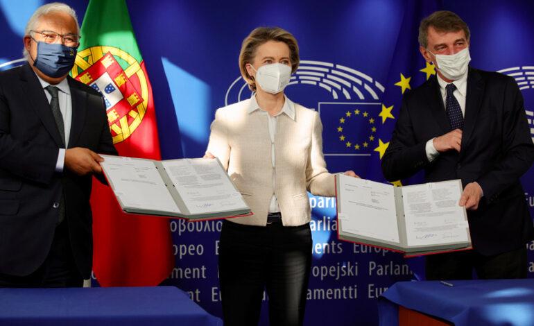 Φον ντερ Λάιεν: Ελεύθερα τα ταξίδια στην Ευρώπη για τους Αμερικανούς που έχουν κάνει εμβόλιο κορονοϊού