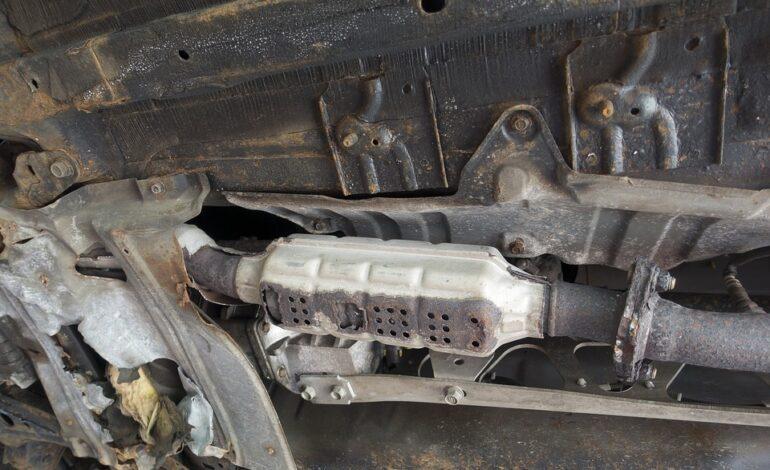 Εξιχνιάστηκαν 10 περιπτώσεις κλοπής καταλυτών αυτοκινήτων