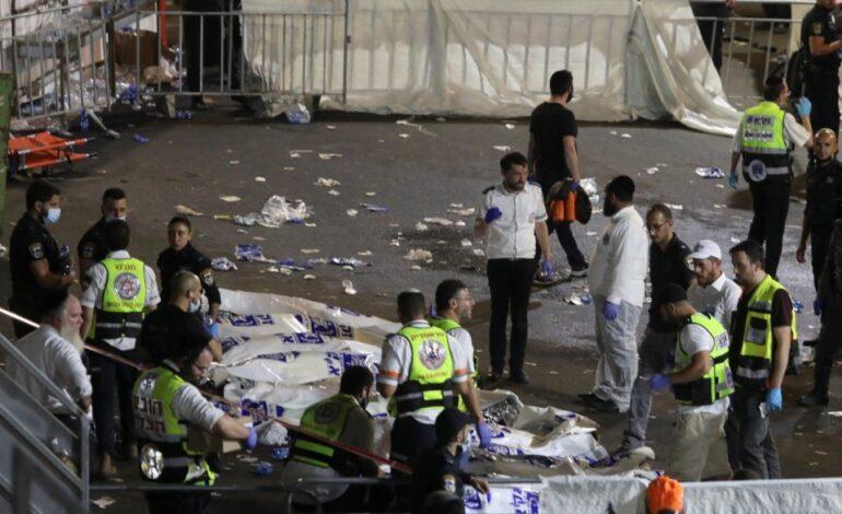Ισραήλ: Υποχώρησε εξέδρα σε θρησκευτική γιορτή – Τουλάχιστον 44 νεκροί