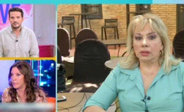 Άννα Ανδριανού για Βάνα Μπάρμπα: Περίεργη μια τόσο παθιασμένη υπεράσπιση ενός ανθρώπου με τον οποίο ήπιε έναν καφέ