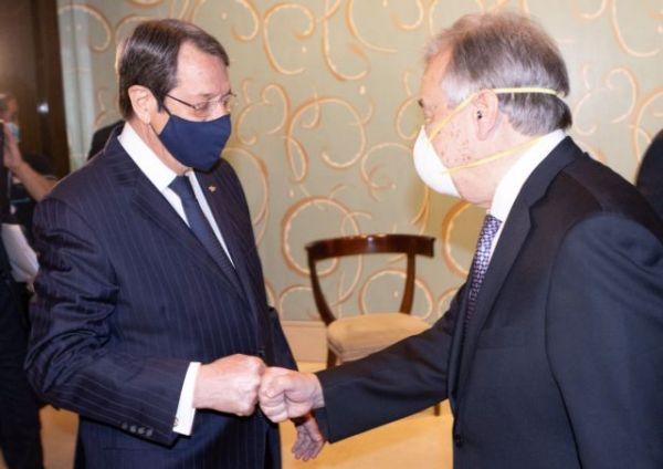 Αναστασιάδης στον Ερντογάν: Αδιανόητη οποιαδήποτε λύση του Κυπριακού έξω από τα ψηφίσματα του ΟΗΕ
